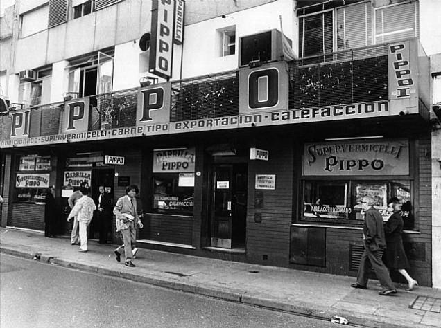 Fachada original de Pippo