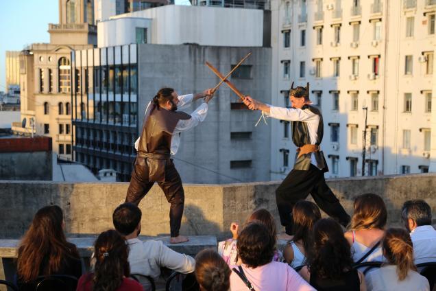 Shakespeare En La Terraza Cover De Un Clásico